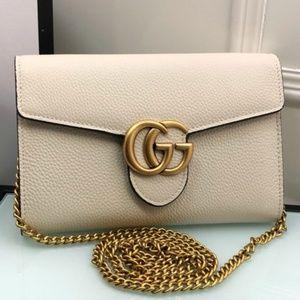 Gucci White Handbag